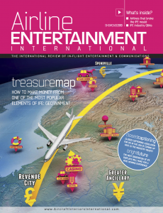 Airline Entertainment front cover