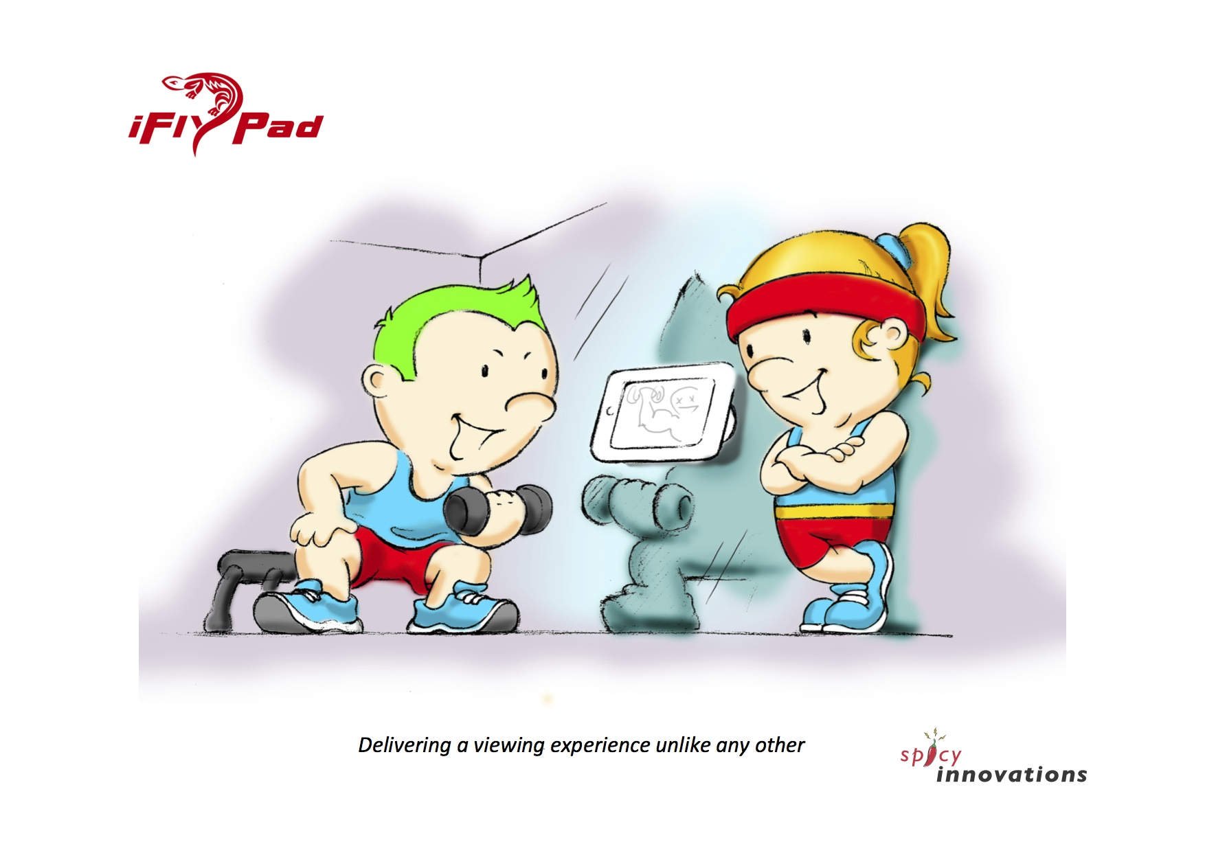 Gym Cartoon | New Calendar Template Site